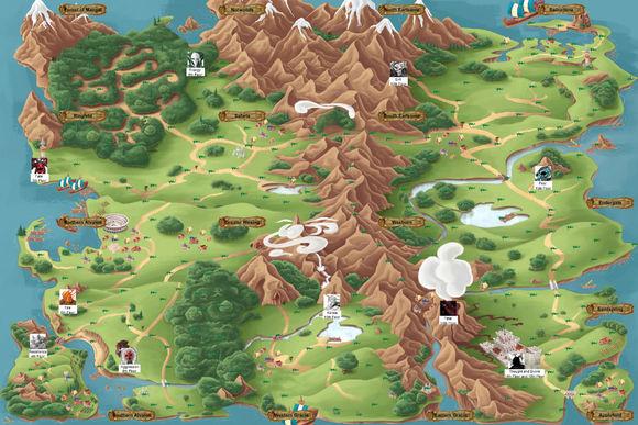 怪物图鉴是什么   《 蓝龙岛 》是一款英文版的回合制角色扮演类的
