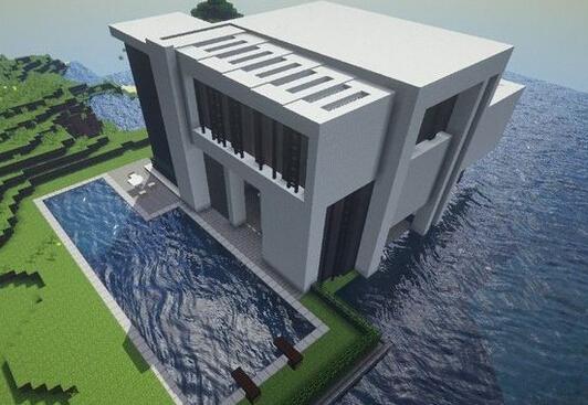 《我的世界》别墅 别墅设计与制作图文解析大放送