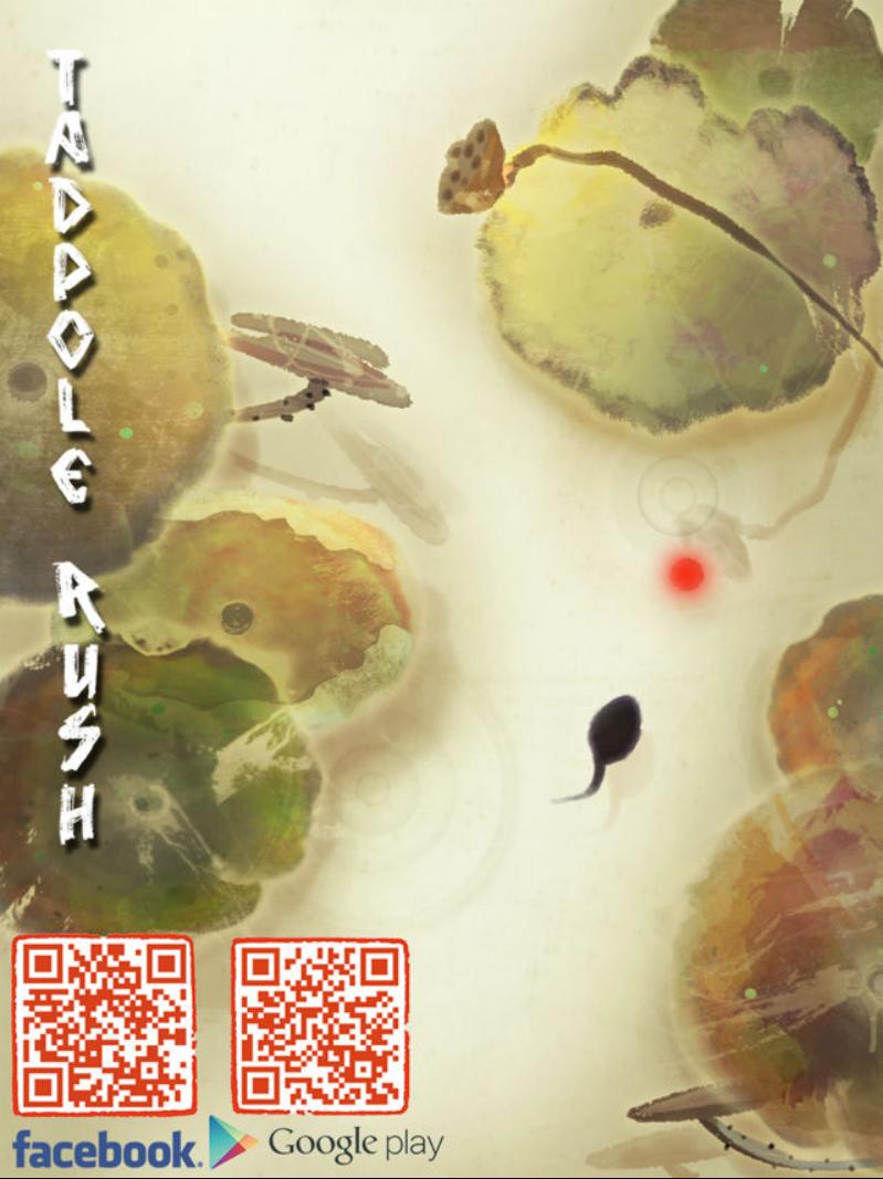 由龙马宽媒体蝌蚪工作室研发的《偏执的蝌蚪 Tadpole Rush》已在 Google Play 平台开放下载,采免费下载、内购收费制。 本作化繁为简,没有太多的画面装饰;制作团队游戏内不追求酷炫特效,而是还原初衷使用中国独有的纸本设色画风,希望带给玩家一款水墨画风格的作品。游戏中唯美的水墨荷塘,配上悠扬的音乐,令人心旷神怡,进入恬静的状态。画面中舞动的小蝌蚪,使画面更加栩栩如生, 完全能领略到水墨画的动感和美感。   游戏中设置了春夏秋冬四季变换、雨雪天气的渲染以及别具匠心的背景音乐,带领玩家体会真正的