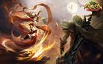 《傲世九重天》手游开放式国战玩法深度解析